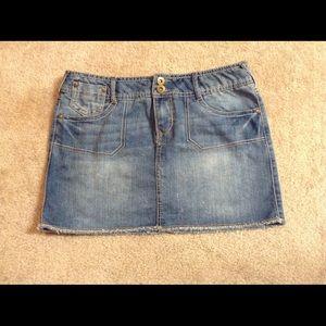 SO Jean Skirt